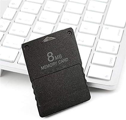 Tarjeta de memoria Compact Design de 8MB apta para PS2 ...