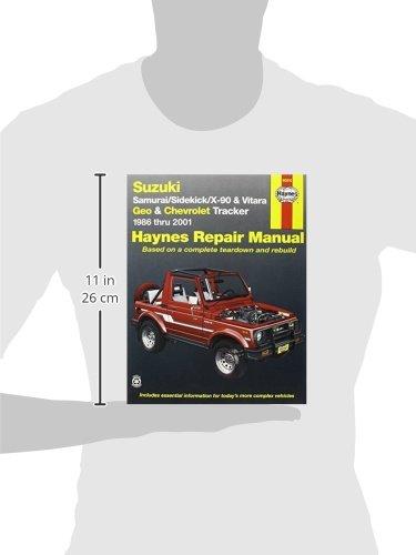 geo tracker service repair manual pdf