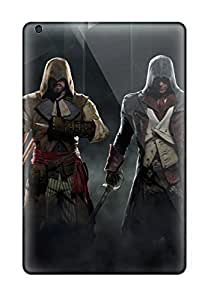 Awesome Defender Tpu Hard Case Cover For Ipad Mini- Assassin's Creed Unity Game