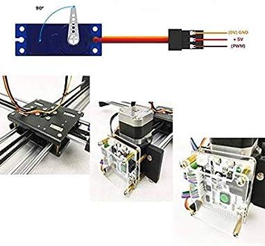 2 ejes DIY CNC XY Plotter Pen Desktop Drawing Robotics Alta ...