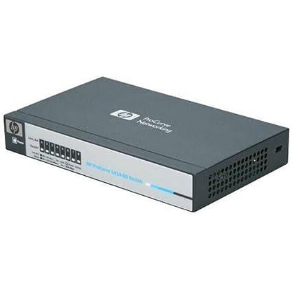 Inteligentny Amazon.com: HP ProCurve J9559A#ABA 1410-8G Gigabit Ethernet Switch RY06