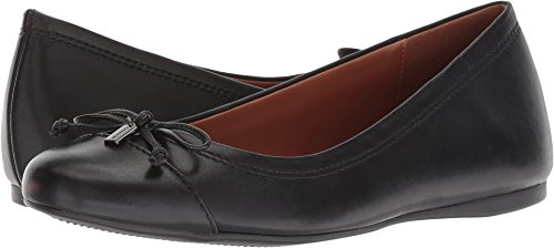 Coach Ballet Shoes (Coach Women's String-Tie Ballet Black Leather 7.5 M US)
