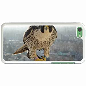Lmf DIY phone caseCustom Fashion Design Apple iphone 5c Back Cover Case Personalized Customized Diy Gifts In Falcon close WhiteLmf DIY phone case