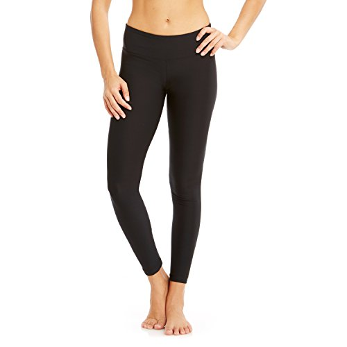 Price comparison product image Bally Total Fitness Women's Flat Waist Leggings,  Black,  Small