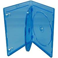Mediaxpo Brand 100 PREMIUM STANDARD Blu-Ray Triple 3 Disc DVD Cases 12MM