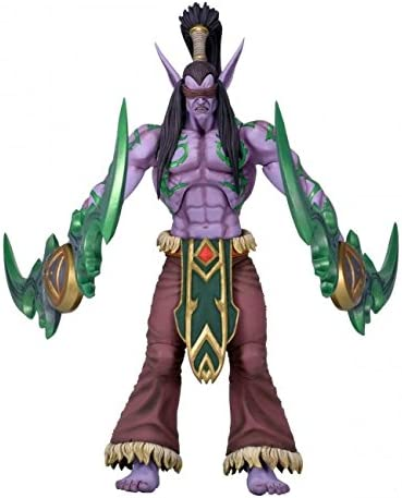 "Illidan Heroes Of The Storm The Betrayer Blizzard Warcraft 7/"" Action Figure"