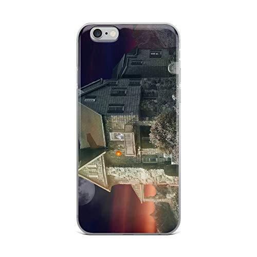 iPhone 6 Plus/6s Plus Case Anti-Scratch Phantasy Imagination Transparent Cases Cover Haunted House Fantasy Dream Crystal -