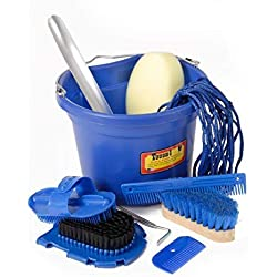 Tough-1 10 Piece Grooming Set Royal Blue