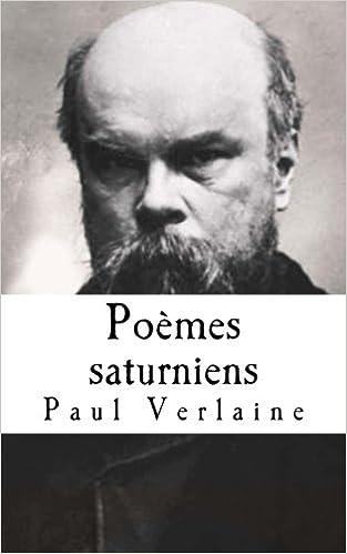 Poèmes saturniens pdf