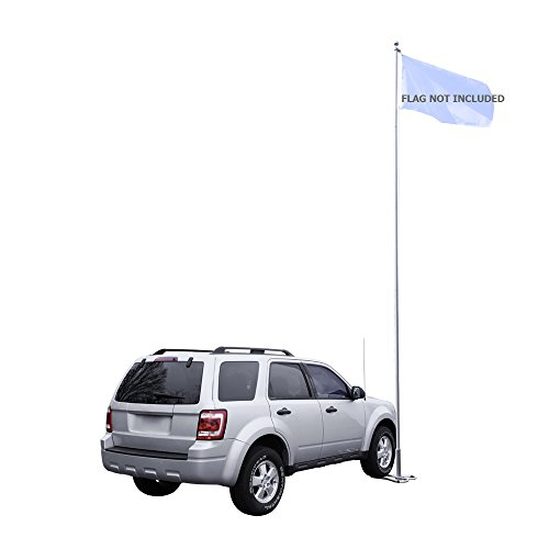 Vispronet 20ft. Aluminum Sectional Tailgating Flag Pole Kit