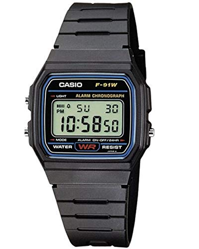 Casio Collection Unisex Digital Watch F-91W