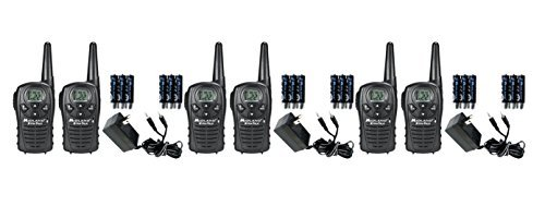 Midland LXT118VP FRS/GMRS 2 Way Radios / Walkie Talkies Up to 18-Miles 22 Channels, Brand New Sealed 6 PACK by Midland