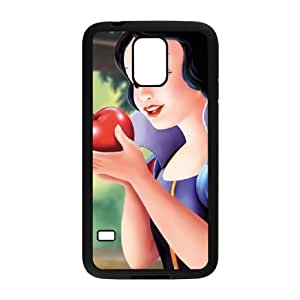 Samsung Galaxy S5 Phone Case Black Snow White and the Seven Dwarfs Snow White XF4248448