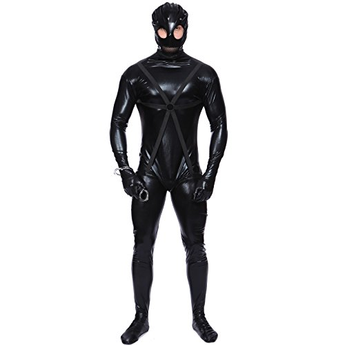 Adult Mens Gimp Outfit Fancy Dress Costume Stag Party Gents (Medium) (Gimp Halloween Costume)