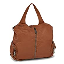 Co Lab Women's Washed Convertible Backpack Cognac