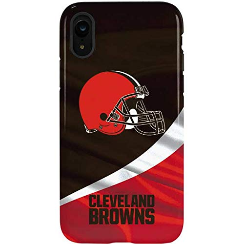 Skinit Cleveland Browns iPhone XR Pro Case - Officially Licensed NFL Phone Case - Dual Layer Construction & Scratch Resistant Finish