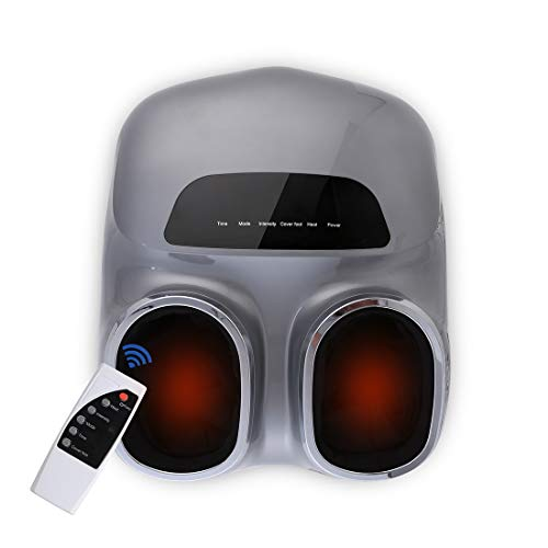 Amazing Foot Massager FlexiSpot Luxury Shiatsu Foot Massager with Deep Kneading, Heat, Air Pressure for Foot, Ankle, Heel, Full Foot Massage, Remote Control, 3 Modes and 5 Intensities, for Home and Office Use 2019