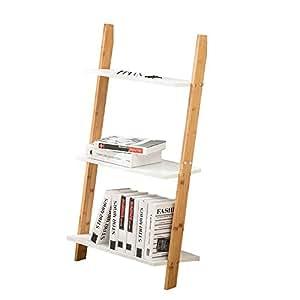 Amazon.com: LYXPUZI Bookshelf Trapezoid-Racks Living Room