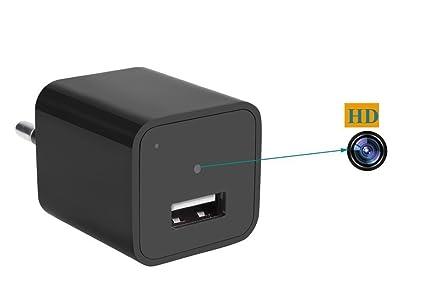 Spy Camera nascosta USB 1080P HD Mini DV Caricatore da parete ...