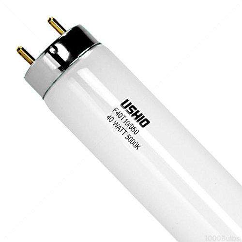 10 Pack--40 Watt T10 Full Spectrum Fluorescent Bulbs