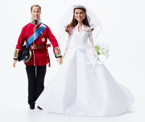 Royal Wedding Dolls | Princess Catherine Wedding Doll and Prince William Doll | Limited Edition Kate Middleton Bride Collector's Doll