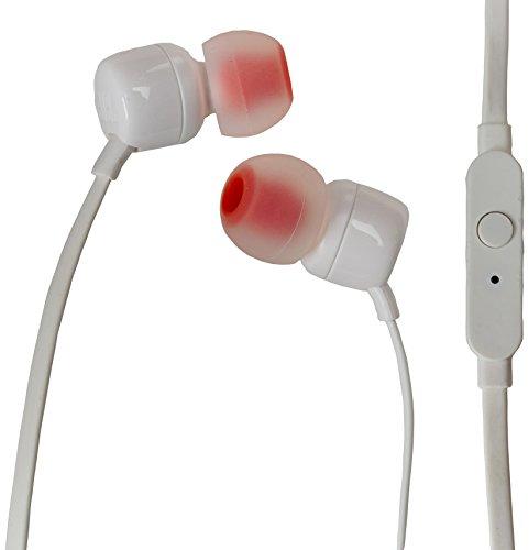 JBL T110WHT Con micrófono In-ear Blanco
