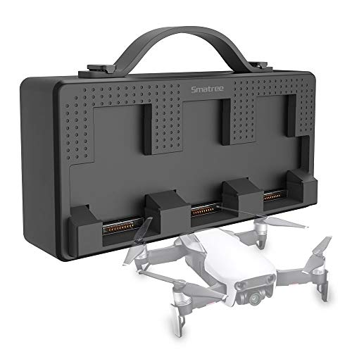 Price comparison product image Smatree 98Wh Portable Charging Station Compatible for DJI Mavic Air, (Charge up to 4-6 Mavic Air Batteries, Charge 3 Mavic Air Batteries Simultaneously)