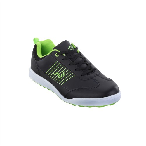 Woodworm Surge Golf Shoe Black/Neon - Woodworm Golf