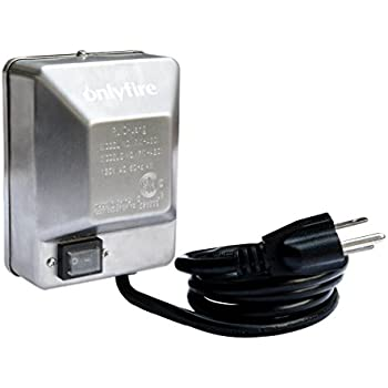 onlyfire Universal Grill Electric Replacement Stainless Steel Rotisserie Motor 110 Volt 4 Watt On/Off Switch- 40 lb. Load, OEM/ODM, Aftermarket