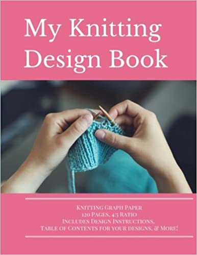 Knitting Design Graph Paper Book 4 5 Ratio 120 Pages Volume 2