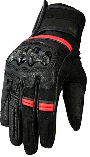 Bikers Gear Australia limitada Vega corto deportes motocicleta guante rojo tama/ño 2/X Large