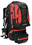 Asolo Navigator 80 Large Travel Pack (Red/Black, Large), Outdoor Stuffs