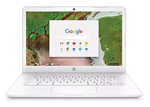 2019 Newest HP 14in Lightweight Business Chromebook-Intel Celeron Dual-Core Up to 2.4 GHz Processor, 4GB LPDDR4 RAM, 32GB SSD, Intel HD Graphics, WiFi, Chrome OS Renewed