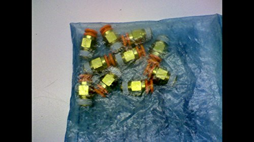 10 pack male connector *lqa SMC KQ2H03-34S fitting