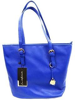 eacac7d109 Carla Belotti Sac à Main Femme - Marque Bleu -Modèle Carol- Prix commerce  119
