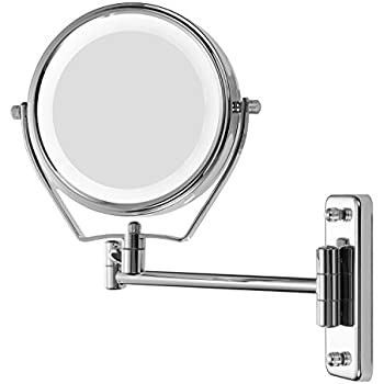 Amazon Com Miusco Lighted Magnifying Double Side