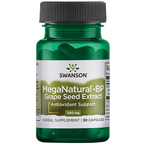 Swanson Meganatural-Bp Grape Seed Extract 300 Milligrams 30 Capsules