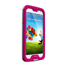 LifeProof NÜÜD Samsung Galaxy S4 Waterproof Case - Retail Packaging - MAGENTA/GREY