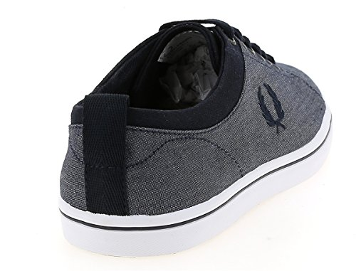 Fred Perry Hallam Chambray Navy Navy SB9360311, Turnschuhe