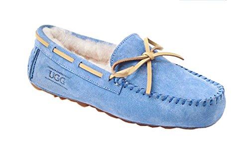 Bluemen Shoes Buckskin UGG Ozwear Fashion Peas qfa1Bw