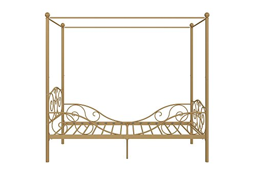 DHP Canopy Metal Bed- Twin 5