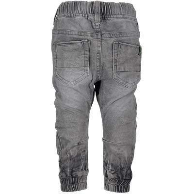 B.Nosy Baby Jungen Legging Jeanshose Hose grau Gummibund