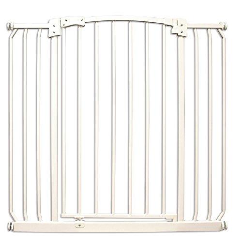 Four Paws Metal Auto Closing Dog Gate, 35.75-39.75 x 36