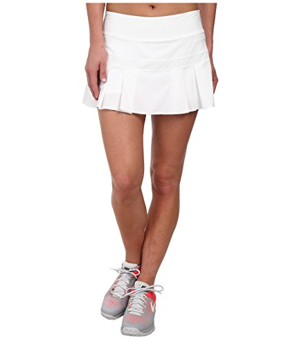 Skirt Nike Pleated Tennis - Nike Women's Woven Pleated Skirt (L, White)
