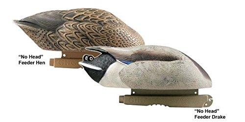 Avery Greenhead Gear Pro-Grade Duck Decoy,Mallards/No-Head Feeder Pack,Pair