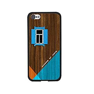 Fashion Case Cool House on Wood Pattern Print 3d Hard Plastic protective case cover for Iphone 6 4.7'' TgSMN8o3iNY
