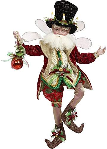 Mark Roberts 2020 Limited Edition Collection The Magic of Christmas Fairy Figurine Medium 17.5`` - Deluxe Christmas Decor and Collectible