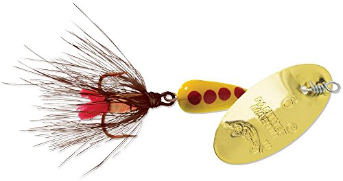 Panther Martin Classic Regular Dressed Fly Fishing Spinner PMRF_6_GBR Classic Regular Dressed Fly Fishing Spinner Gold/Brown