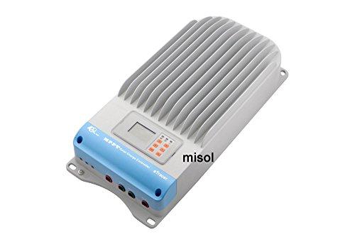 MISOL EPSOLAR 60A MPPT solar regulator, 12V 24V 36V 48V auto recognition, MPPT solar charge controller