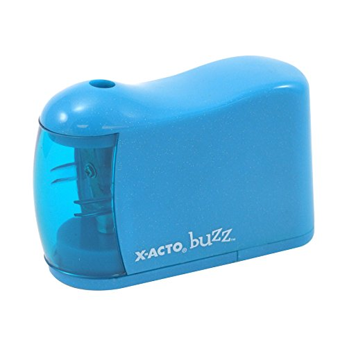 Elmers X-Acto Buzz Battery-Powered Pencil Sharpener, Colo...